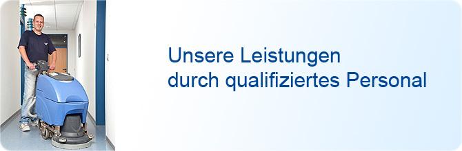 Grundreinigung - Unsere Leistungen durch qualifiziertes Personal